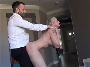 huge-titted Leya Falcon roughly donk drilled by Pascal white
