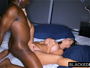 BLACKEDRAW Ava Addams Is porking big black cock And Sending pictures To Her spouse