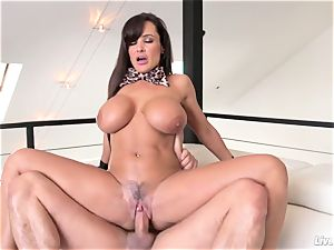 LiveGonzo Lisa Ann torrid huge-boobed mom pounding