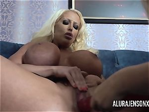 Alura and her busty girly-girl pal Dolly get nasty