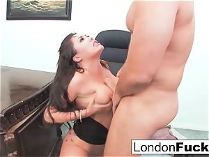 London Gets bent Over and Office nailed