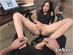 tearing up a Russian sweetie in pov