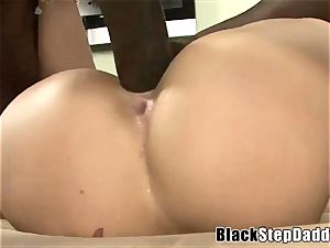 chesty slut Charley haunt interracial romping