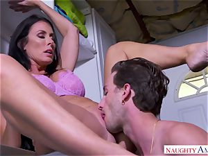huge-titted mommy enjoys orgy