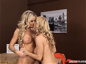 Alexis Fawx and Jessa Rhodes attempt out fresh fucky-fucky toy