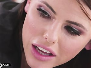 Girlsway Adriana Chechik Got a plaything Stuck in her arse!