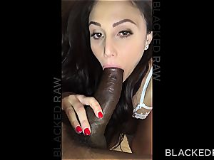 hot black-haired making memories with a ginormous man-meat