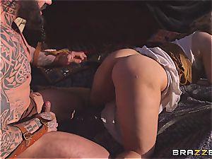 Game of Thrones parody with boobylicious Peta Jensen and Aruba Jasmin