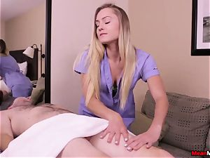 Avalon corded and ties Her stud - He Got wrecked