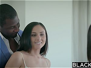 BLACKED Adria Rae and Ariana Marie first interracial threesome