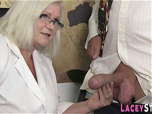 grandmother luvs hard-core 4some hump