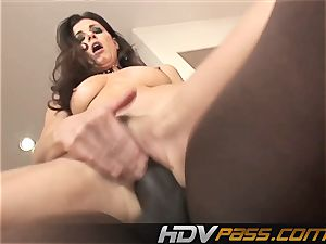 HDVPass interracial sex with India Summers