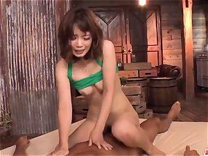Yura Kurokawa serious pornography play and bareness on cam