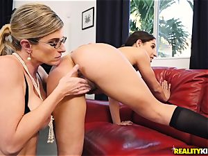 lesbo ass n cooter have fun with Cory chase and Abella Danger