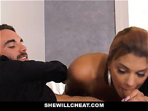 SheWillCheat - super-hot cheating wifey revenge screwing