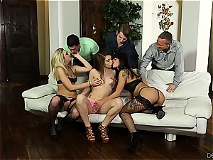 birthday gang bang-out surprise