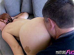 nubile Jodi Taylor Eaten n penetrated by Geezer