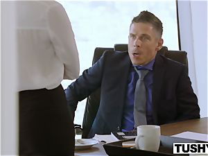 TUSHY Bree Daniels first buttfuck fuckfest gig