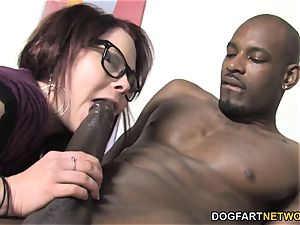 Misti Dawn ravages bbc For The first-ever Time On Camera