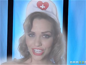 fantasy nurse Mia Malkova gets her patient thru his operation