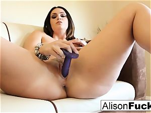 ample breasted sweetie Alison Tyler plays with her cootchie