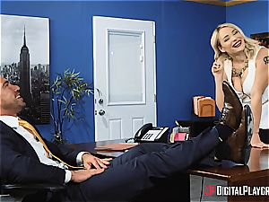Johnny Castle uses his largest asset to the fullest