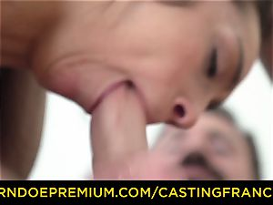 audition FRANCAIS - first-timer sweetie pummeled and jizz adorned