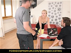 unveiled audition - curvaceous honey fucky-fucky mastery test in audition