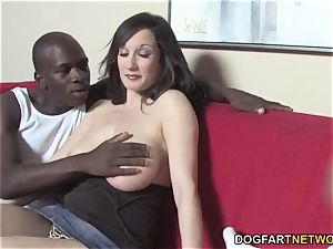 buxomy mommy Tris multiracial fuckfest In Front Of Her son