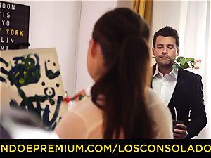 LOS CONSOLADORES - Spicy 3 joy with molten Tina Kay