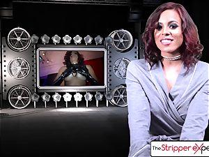 The Stripper practice - Luna starlet her moist tight gash
