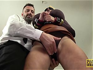 PASCALSSUBSLUTS - Shannon melons ball-gagged before raunchy anal