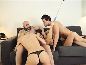LOS CONSOLADORES - super hot swinger fourway with hot honies