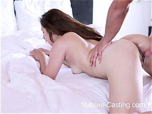 Nubiles casting - hardcore pornography casting for beginner