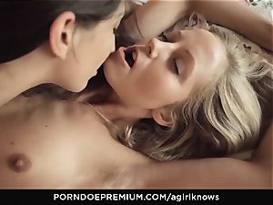 A doll KNOWS Jimena Lago sensuous g/g hook-up
