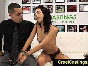 uber-sexy Gina Valentina held and dominated