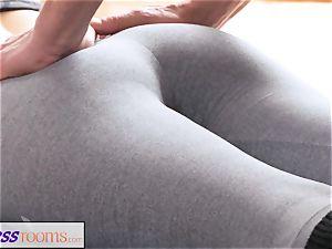 FitnessRooms filthy yoga tutor spectacular sport model