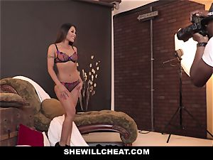 SheWillCheat - torrid japanese wife rode By big black cock