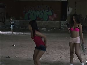 Apolonia Lapiedra, Alexa Tomas - Real inexperienced pornography in a muddy ghetto