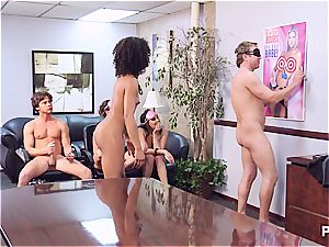 Getting naughty in the office part four
