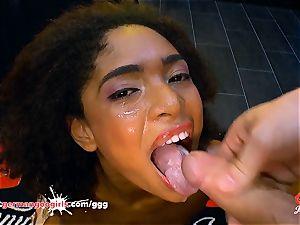 Luna Corazon nailed and creamed - German Goo ladies