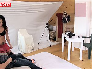 LETSDOEIT - cameraman Tricks and pummels teenager dark haired