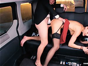 nailed IN TRAFFIC - brit Tina Kay boinked in the car