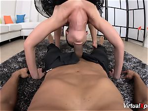 flexi fuck-a-thon with Ballerina Vinna Reed