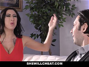 SheWillCheat - bitch wifey donk drilled by pal
