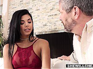 Gina Valentina cucks husband with a phat ebony prick