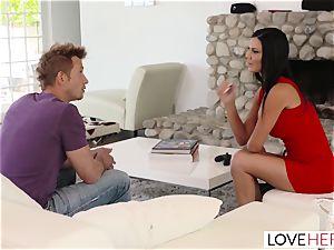 LoveHerFeet - Lusty british foot penetrating Session
