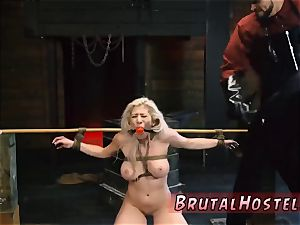 restrain bondage bench rear end Big-breasted blond sweetie Cristi Ann is on vacation boating and