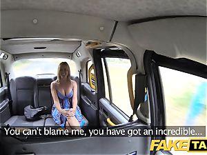 faux taxi Mum with congenital baps gets gigantic brit dick