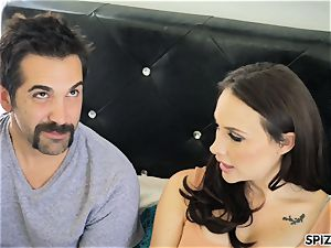 Spizoo - see Chanel Preston gargling and ravaging